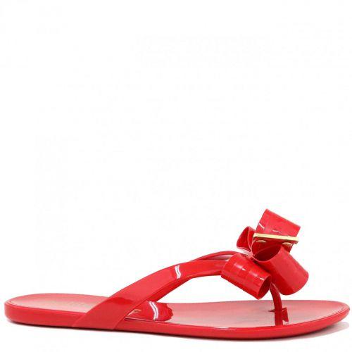 Chinelo Petite Jolie Laço Vermelho PJ4531