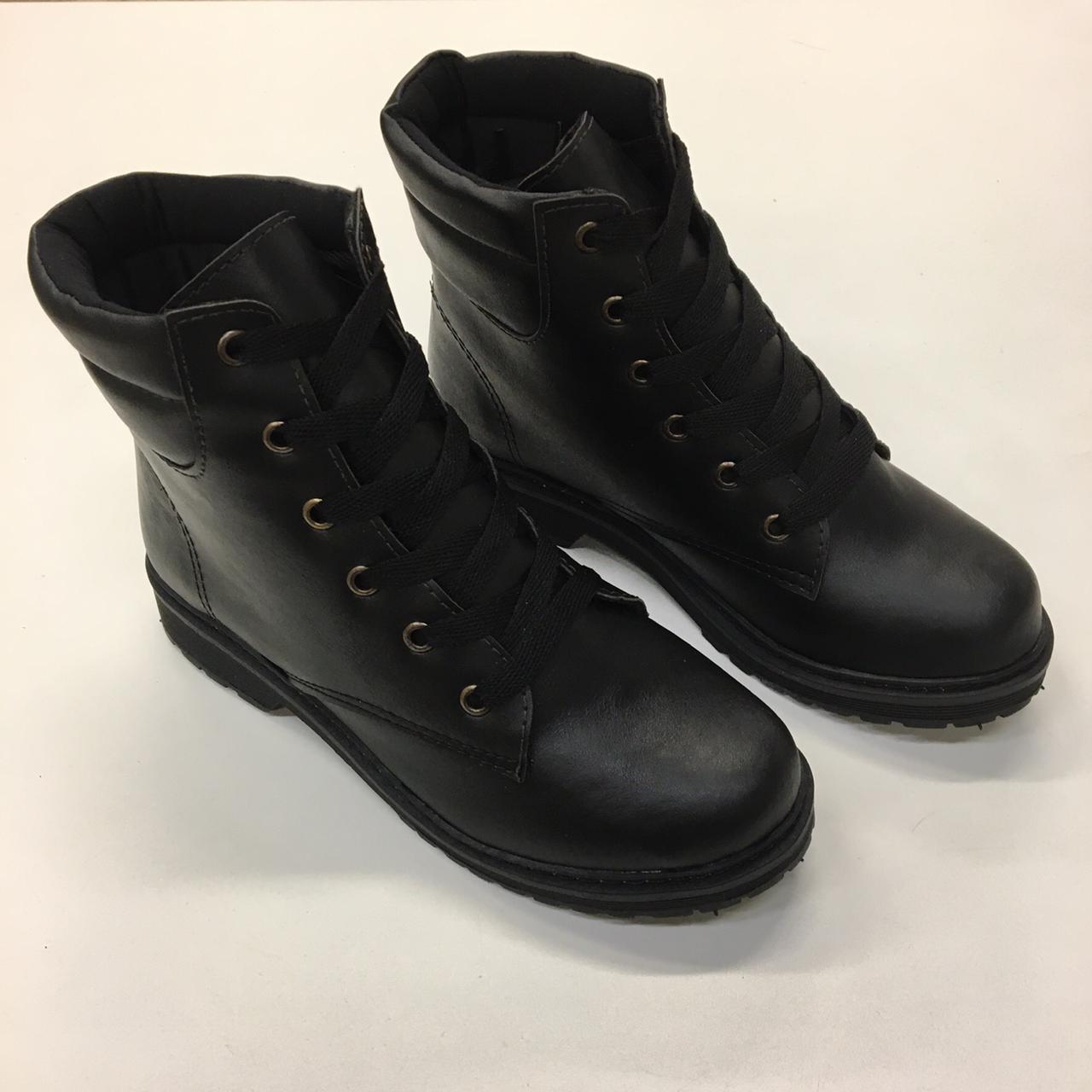 Coturno Duratti Shoes Sintético Preto