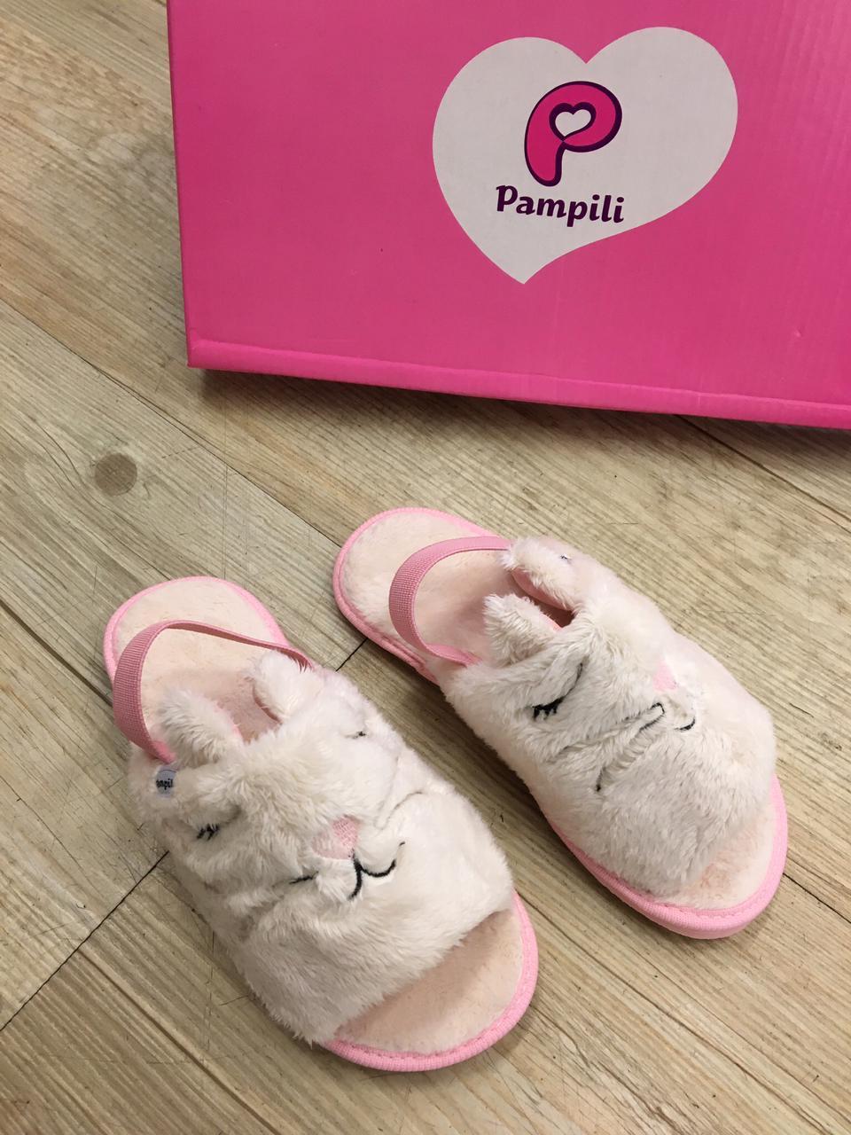 Pantufa infantil Pampili Fluffy 649005