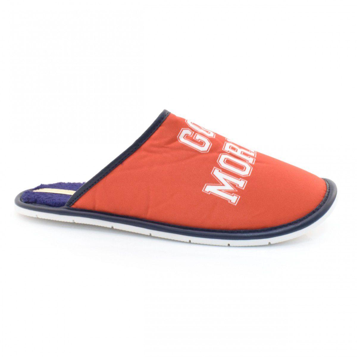 Pantufa Moleca  5427101 Vermelho/ Azul