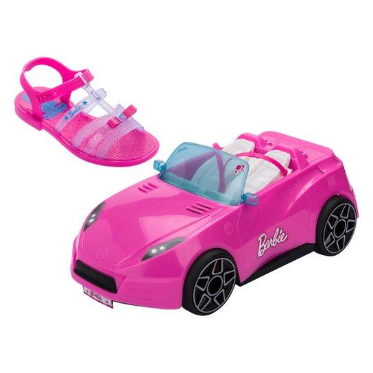 Sandália Barbie Carro Conversível 22166