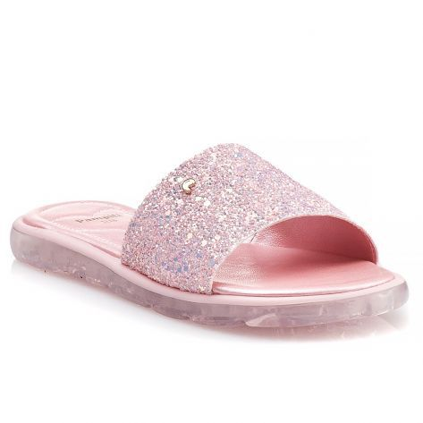 Sandália Slide Pampili Bubble 470.004 Coral