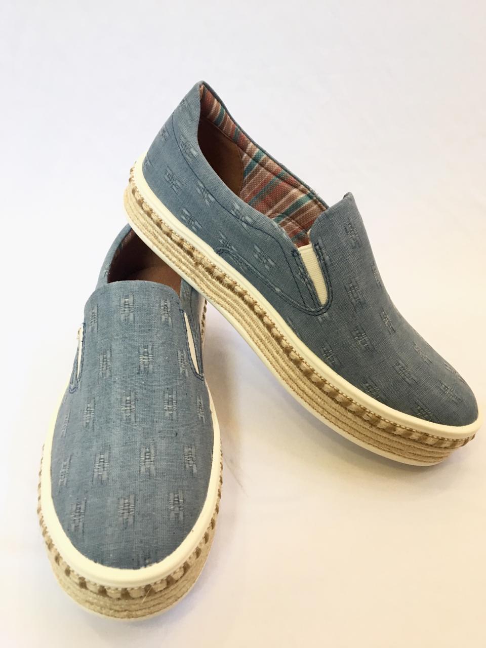 Tênis Slip On Cravo & Canela Sip On Jeans 163104