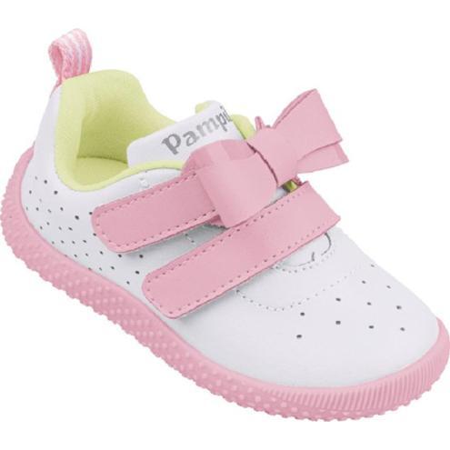 Tênis Infantil Pampili Baby calce 657.001 Branco