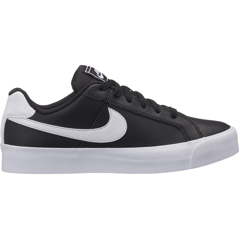 Tênis Nike Court Royale Black White