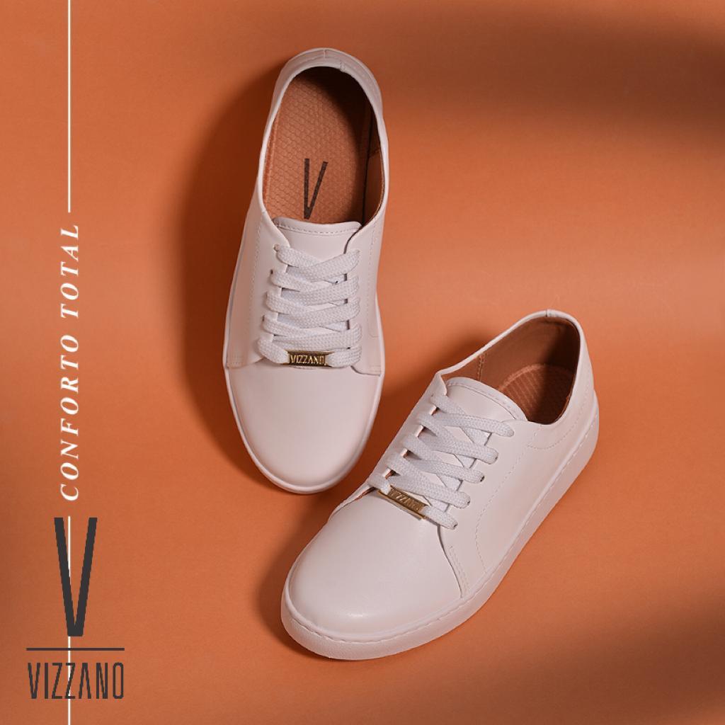 Tênis Vizzano Casual Branco 1214.205