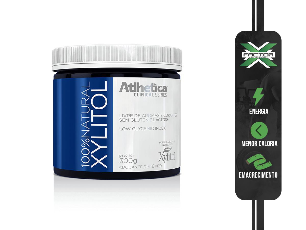 100% NATURAL XYLITOL - 300g - ATLHETICA NUTRITION