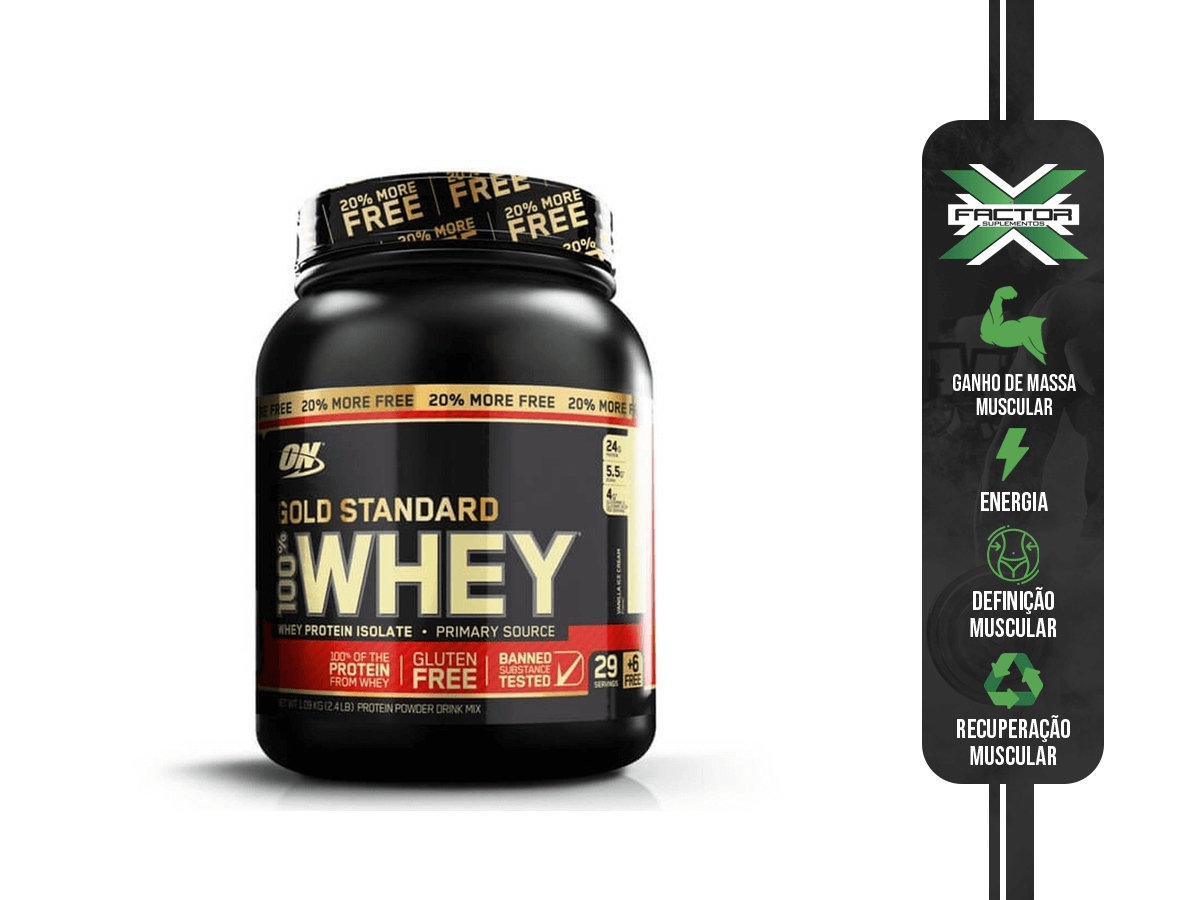 100% WHEY PROTEIN GOLD (1090G) OPTIMUM NUTRITION