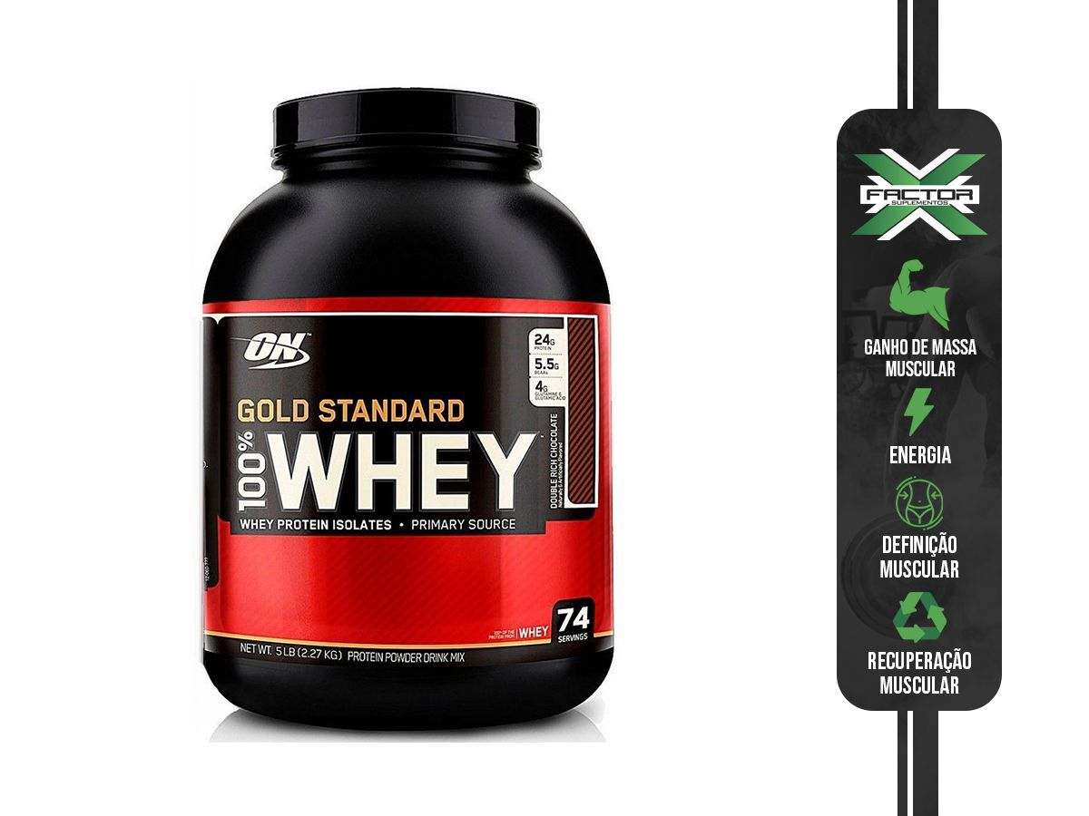 100% WHEY PROTEIN GOLD (2270G) OPTIMUM NUTRITION