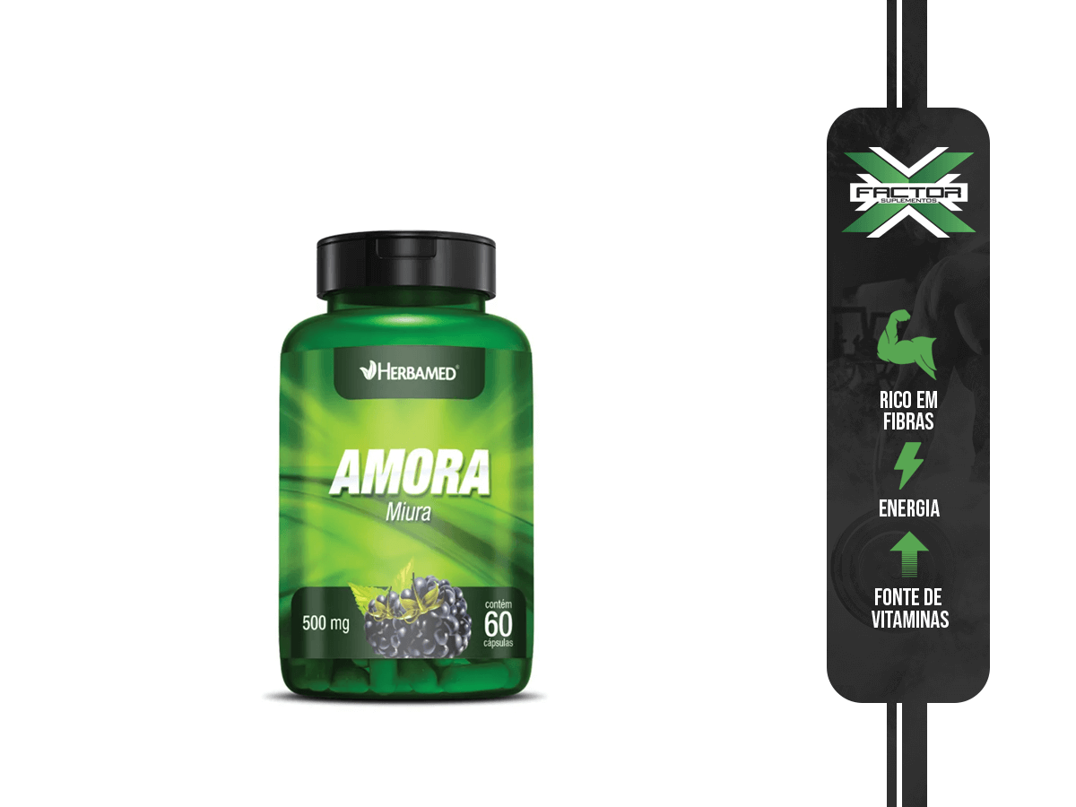AMORA 60CAPS 500MG HERBAMED