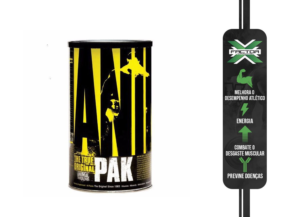ANIMAL PAK (44 PACKS) UNIVERSAL NUTRITION