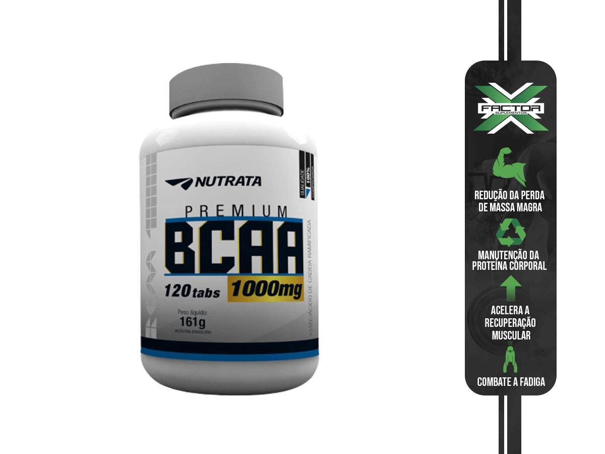 BCAA 1G 120CAPS - NUTRATA