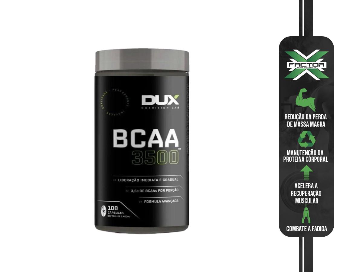 BCAA 3500 100 CAPSULAS - DUX