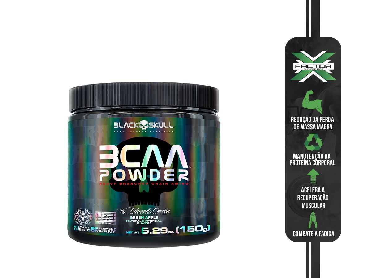 BCAA POWDER (150G) - BLACK SKULL