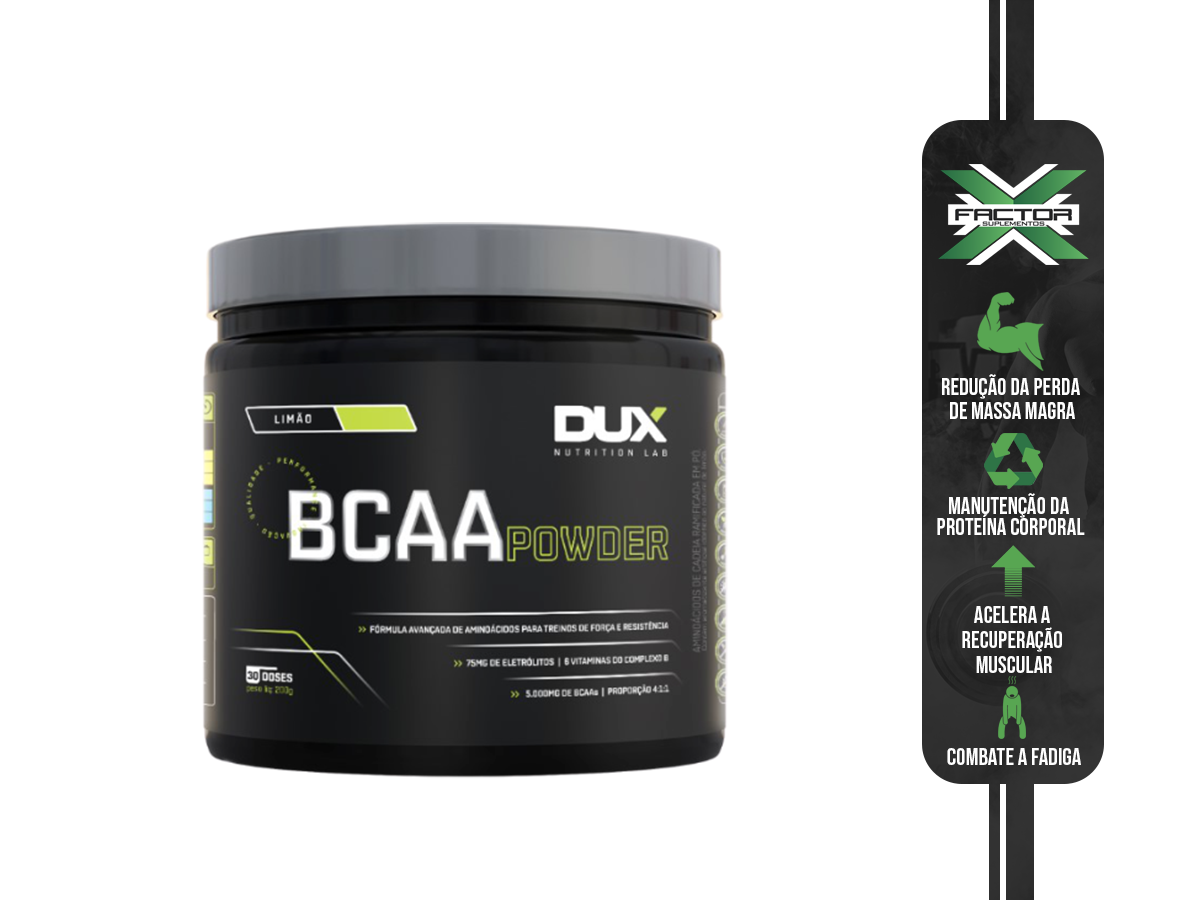 BCAA POWDER 200G - DUX
