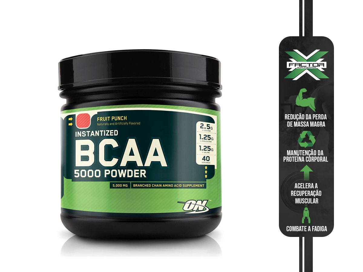 BCAA POWDER (260G) OPTIMUM NUTRITION