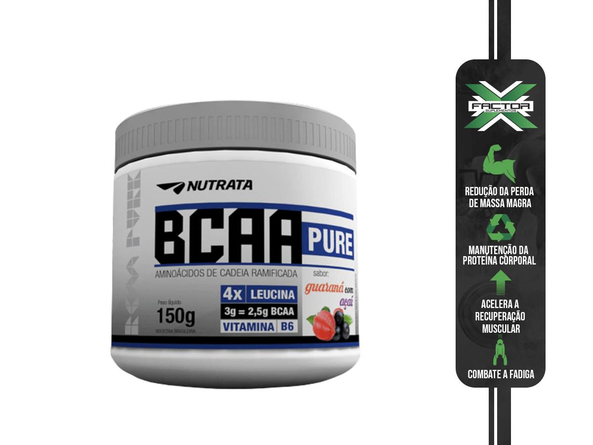 BCAA PURE 150G - NUTRATA