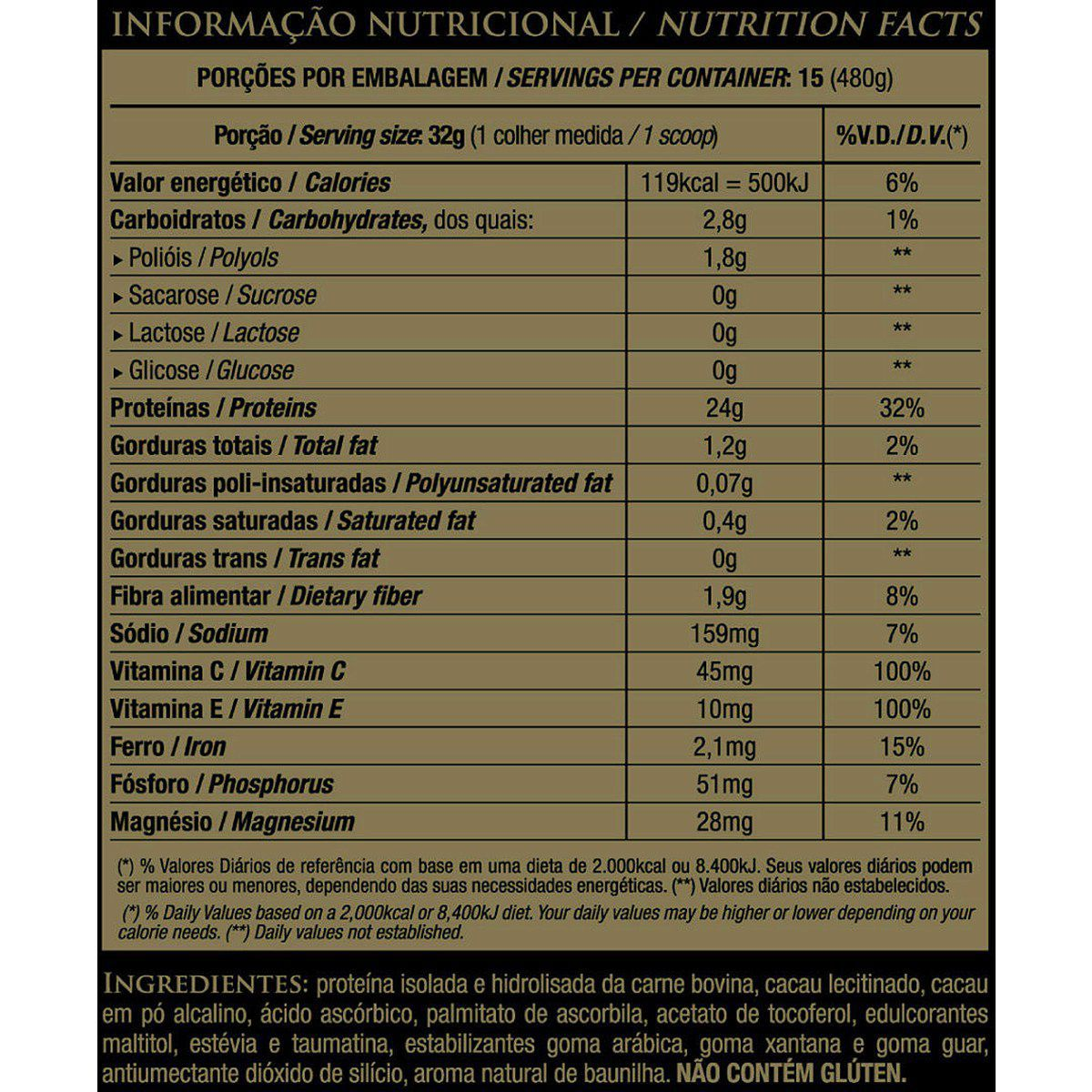 BEEF PROTEIN BANANA (420G) ESSENTIAL NUTRITION