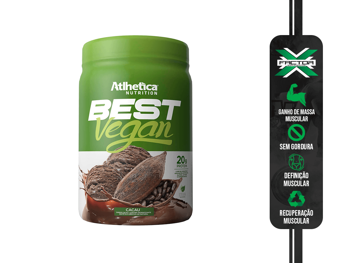 BEST VEGAN 500G ATLHETICA NUTRITION