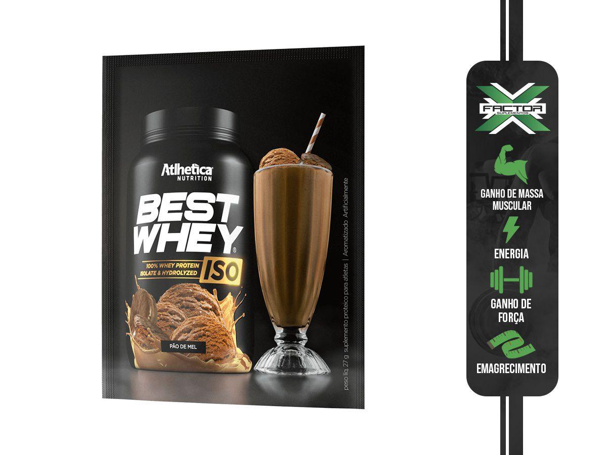 BEST WHEY ISO SACHE (27G) ATLHETICA NUTRITION