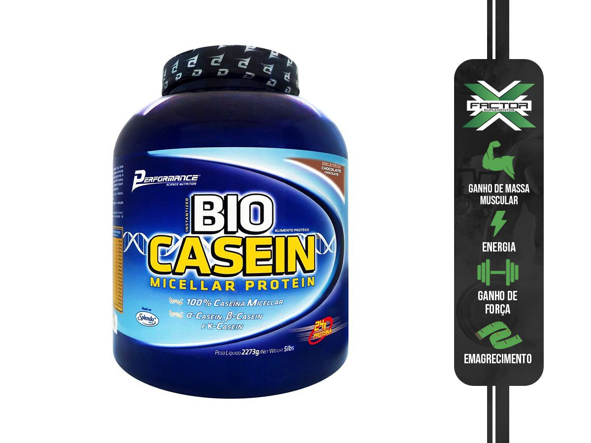 BIO CASEIN (2,273KG) PERFORMANCE NUTRITION