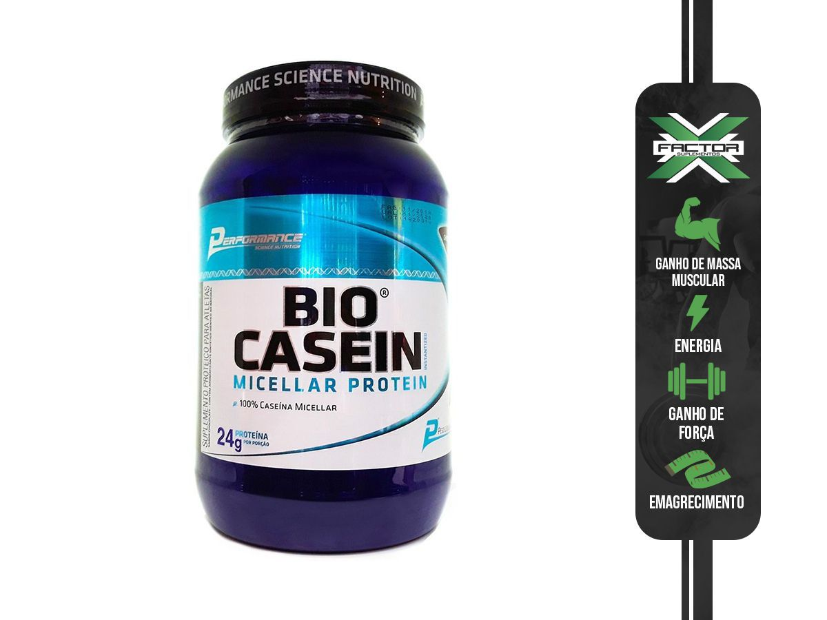 BIO CASEIN (909)G PERFORMANCE NUTRITION