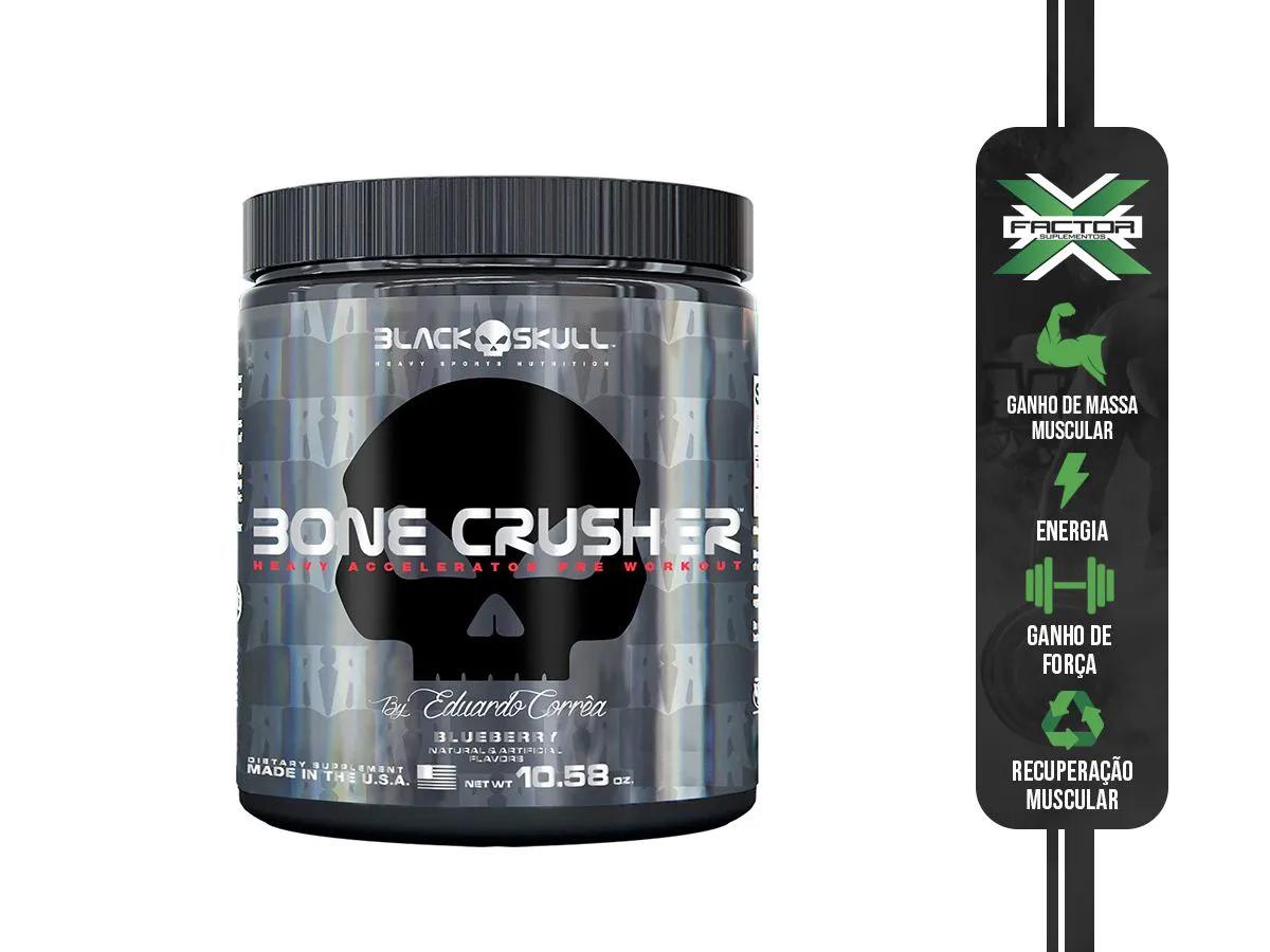 BONE CRUSHER (150G) - BLACK SKULL