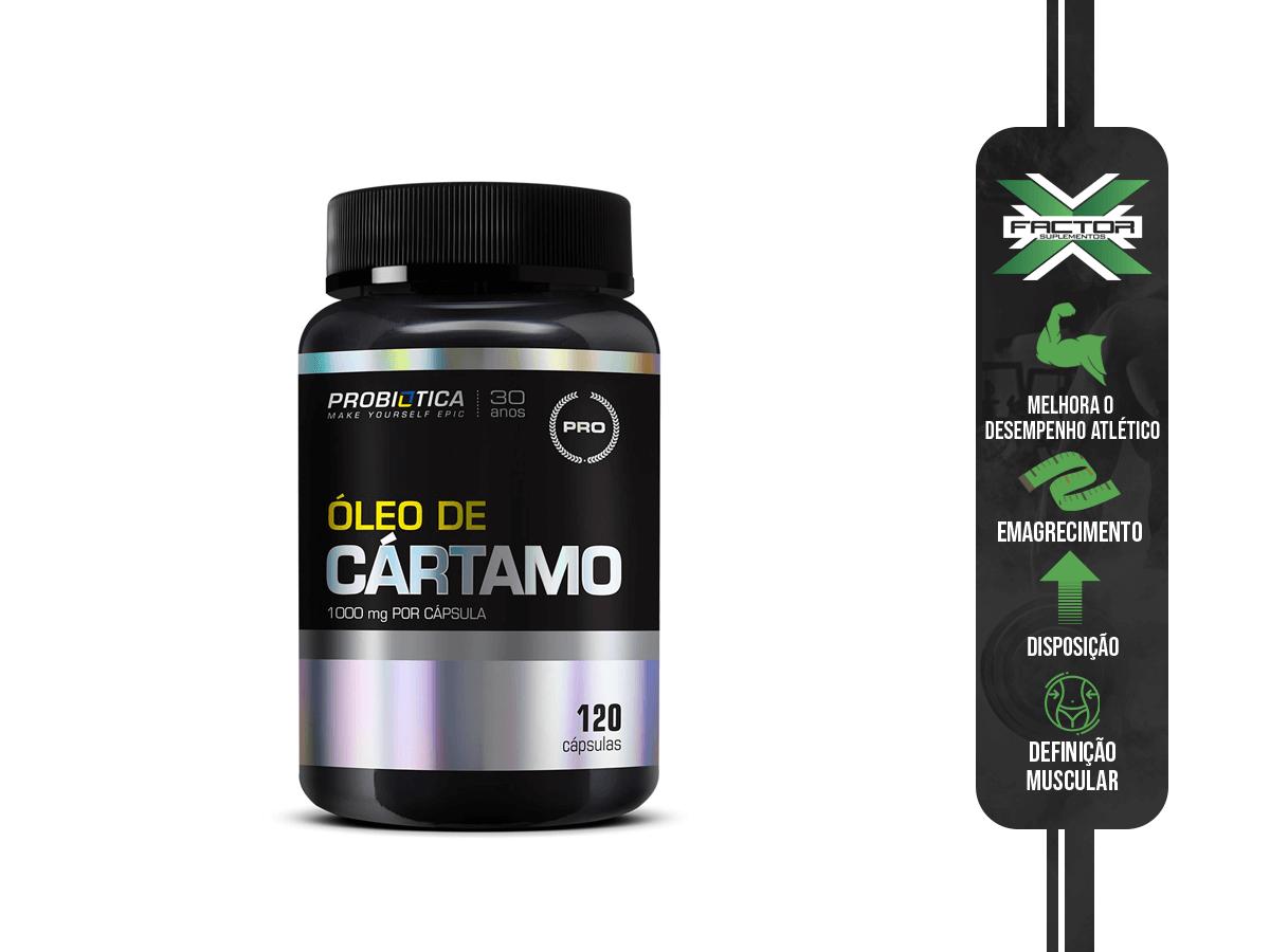 CA OLEO DE CARTAMO 120 CAPSULAS PROBIOTICA