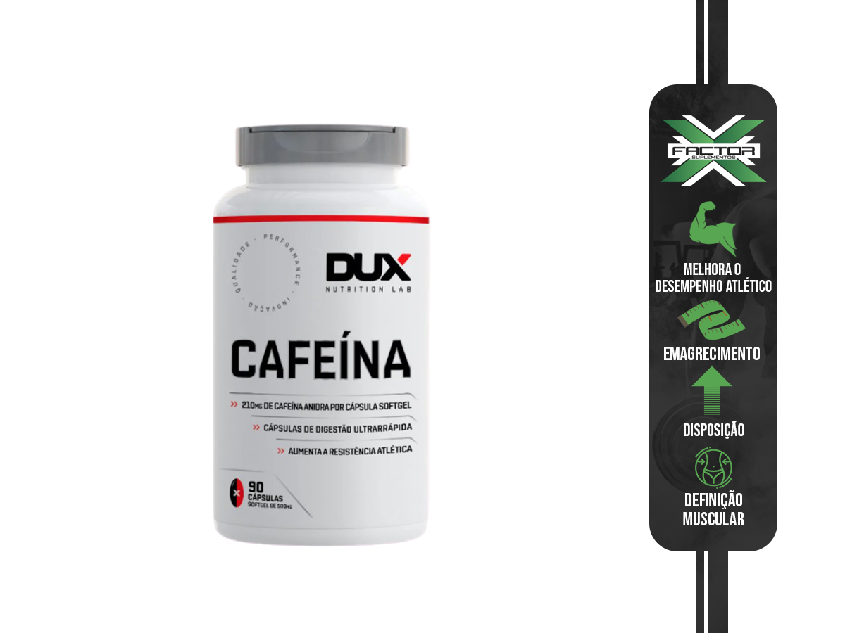 CAFEINA 90 CAPSULAS - DUX