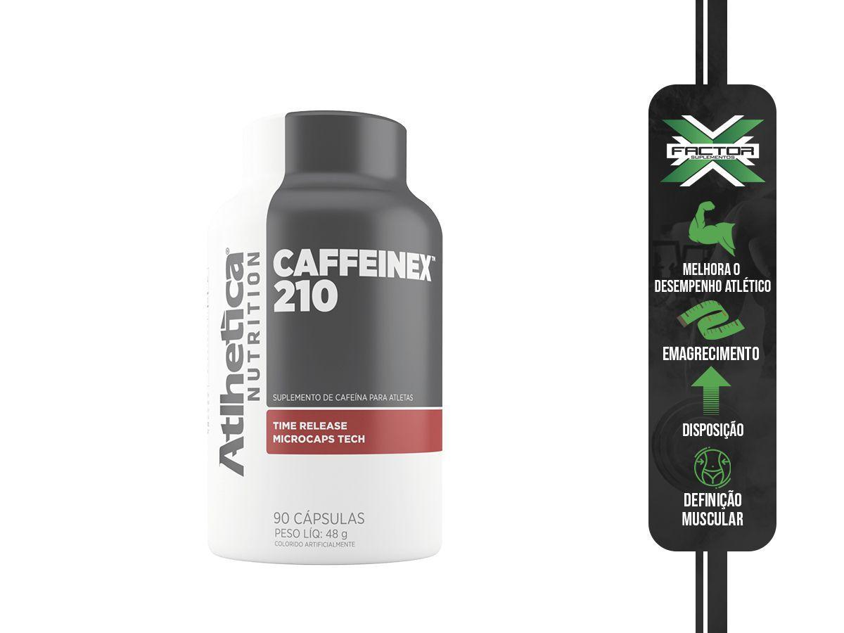 CAFFEINEX 210 (60CAPS) ATLHETICA NUTRITION
