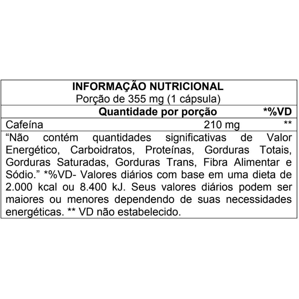 CAFFEINEX 210MG (60CAPS) ATLHETICA NUTRITION