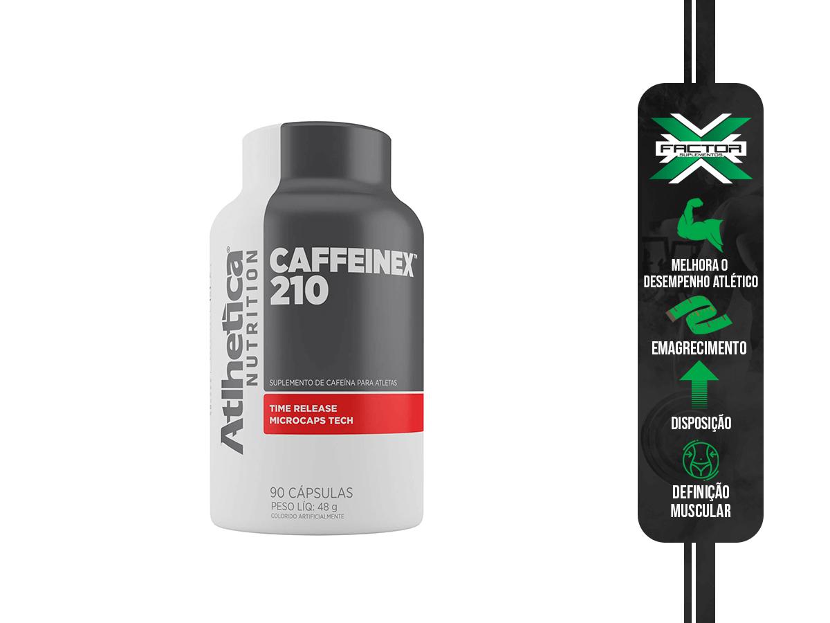 CAFFEINEX 210MG 90 CAPS ATLHETICA NUTRITION