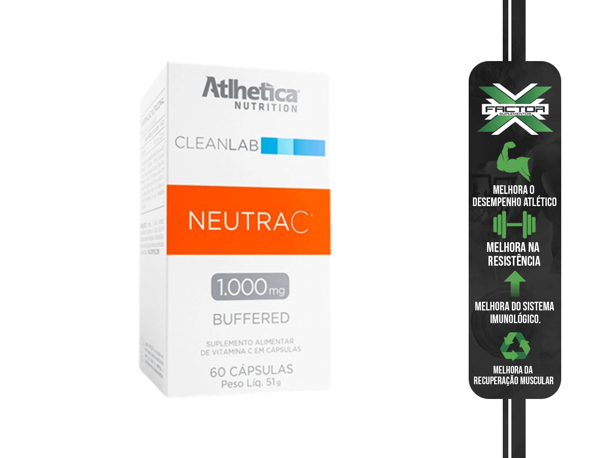 CLEANLAB NEUTRA C BUFFERED 1000MG 60 CAPS