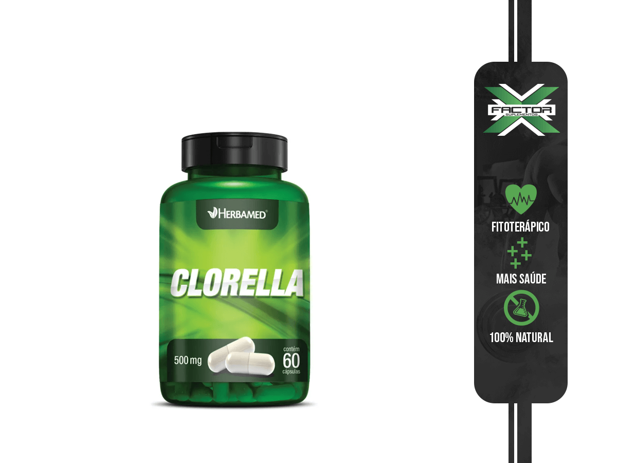 CLORELLA 60 CAPS 500MG HERBAMED
