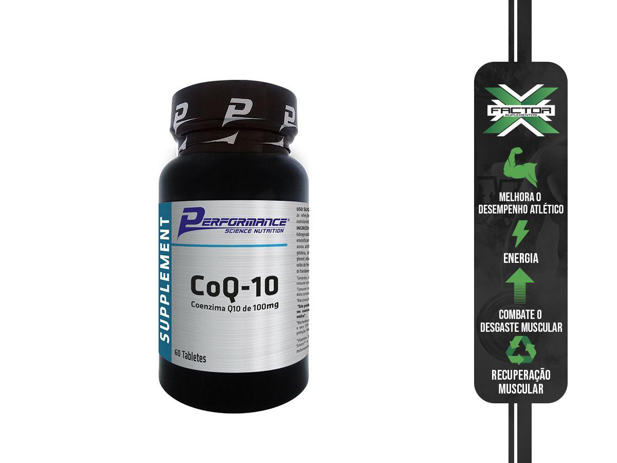 COQ-10 60 CAPS - PERFORMANCE NUTRITION