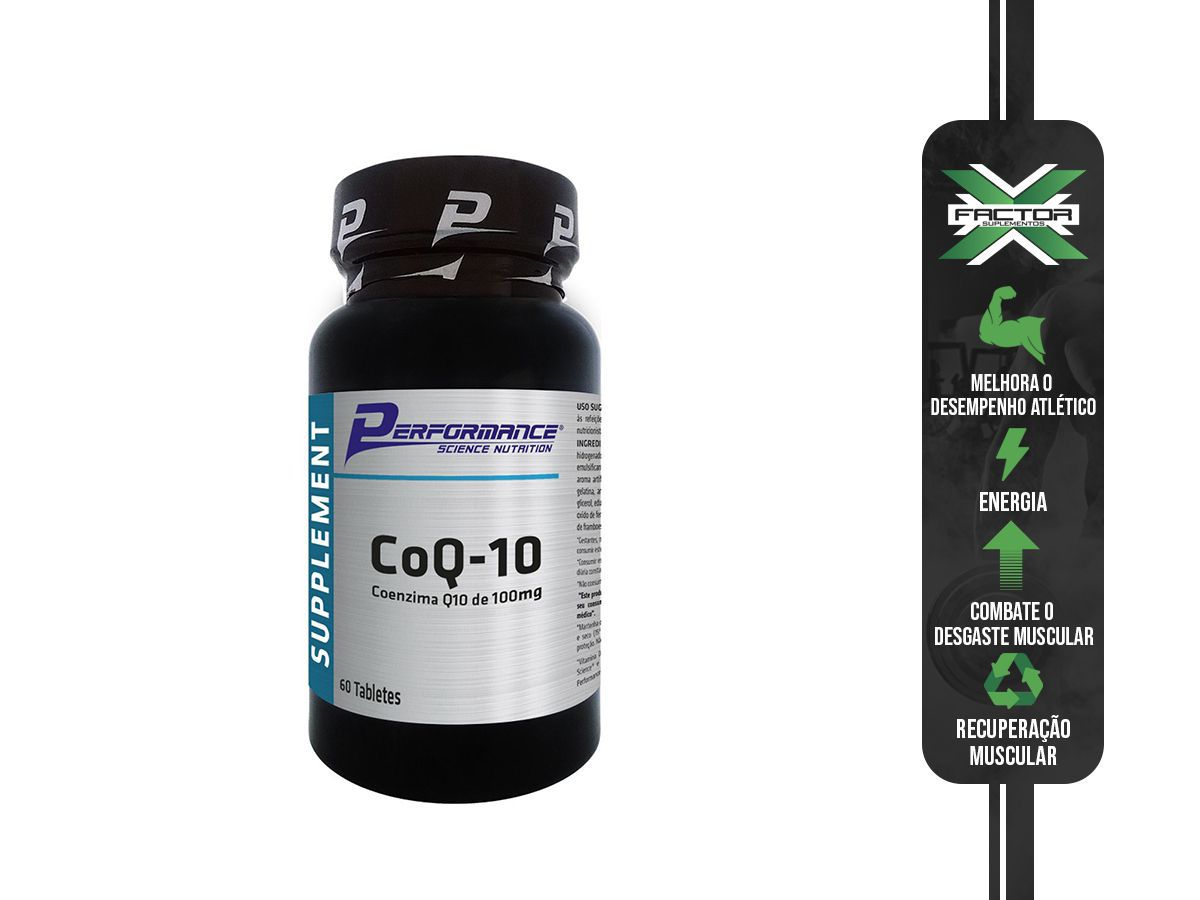 COQ 60 CAPS - PERFORMANCE NUTRITION