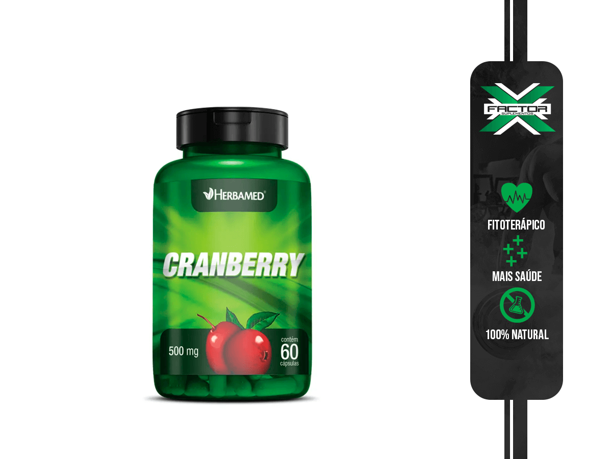 CRANBERRY 60 CAPS HERBAMED