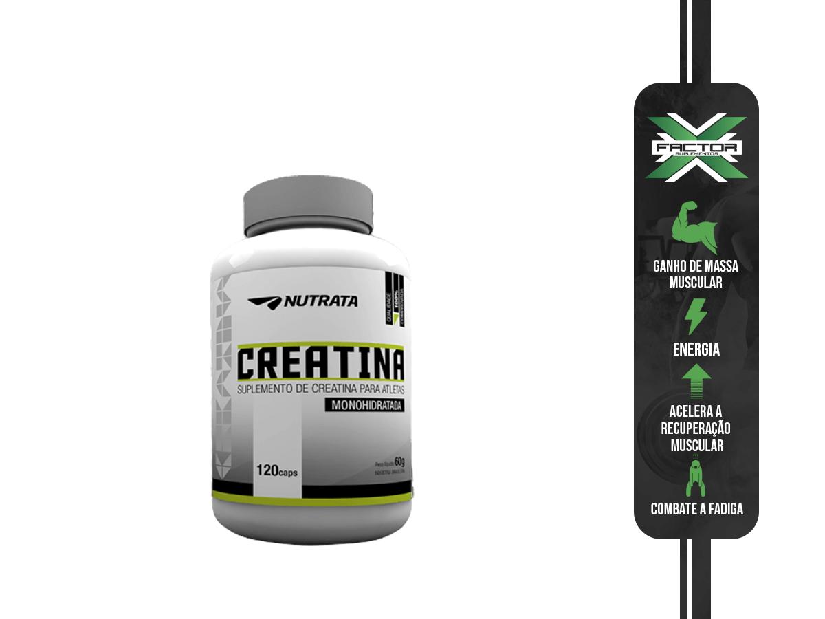 CREATIN UP 120CAPS - NUTRATA