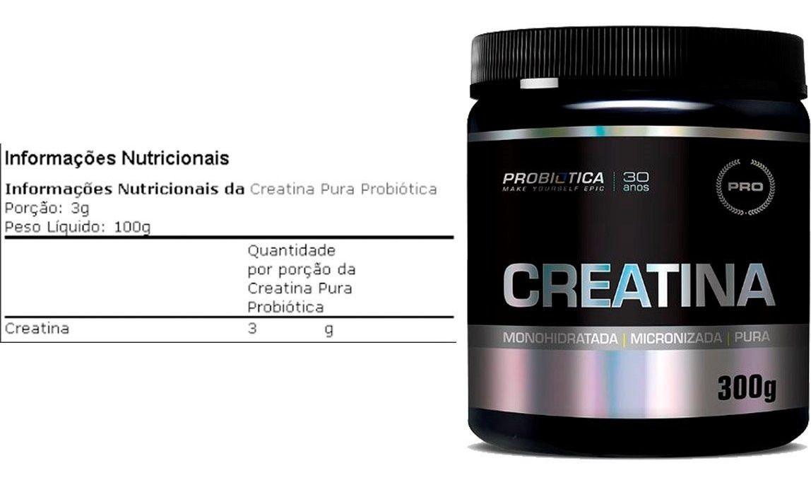 CREATINA PURA 300G PROBIOTICA