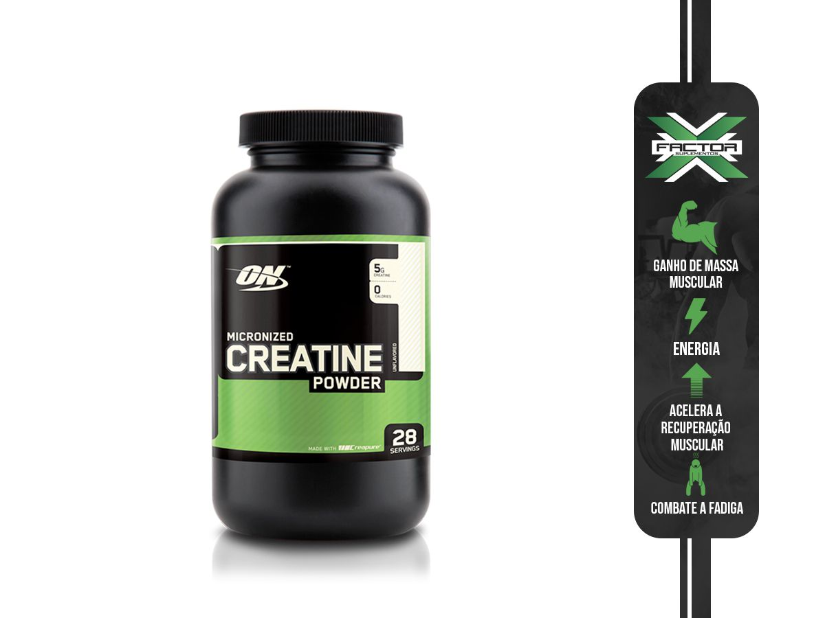 CREATINE POWDER (300G) OPTIMUM NUTRITION