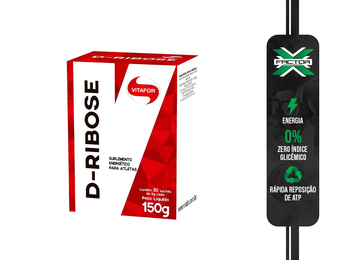 D-RIBOSE 30 SACHES VITAFOR