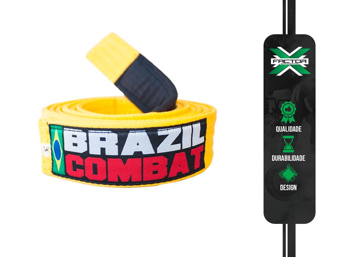 FAIXA AMARELA BRAZIL COMBAT