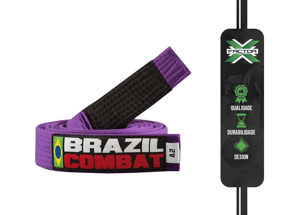 FAIXA ROXA BRAZIL COMBAT