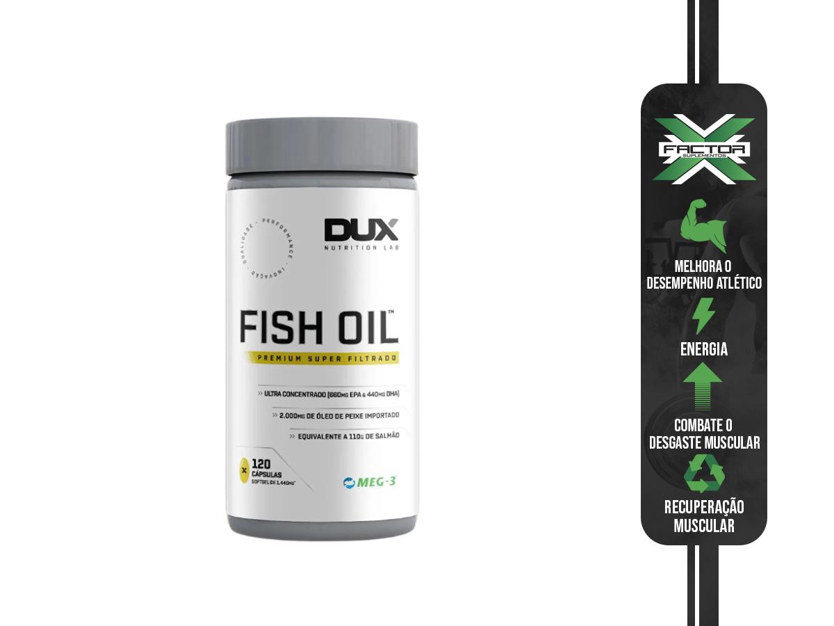 FISH OIL 120 CAOSULAS - DUX