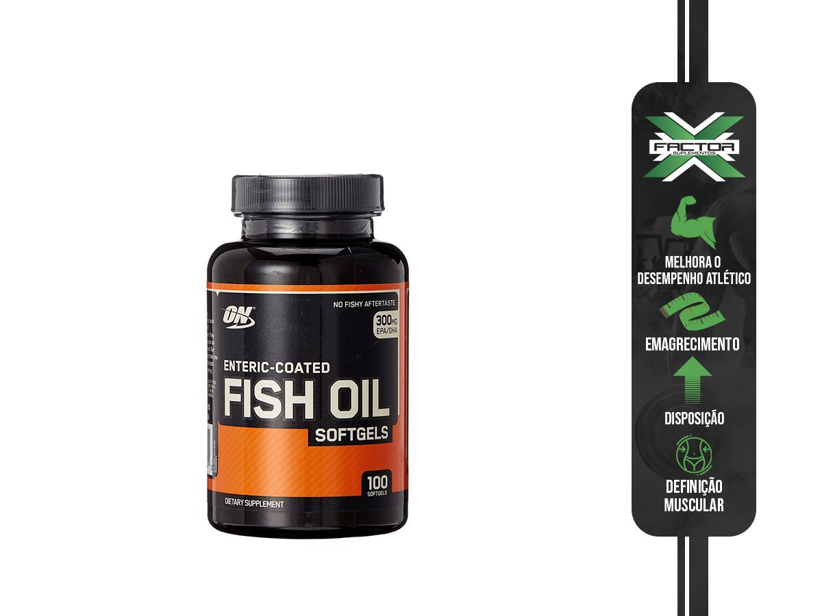 FISH OIL OPTIMUM 100CAPS
