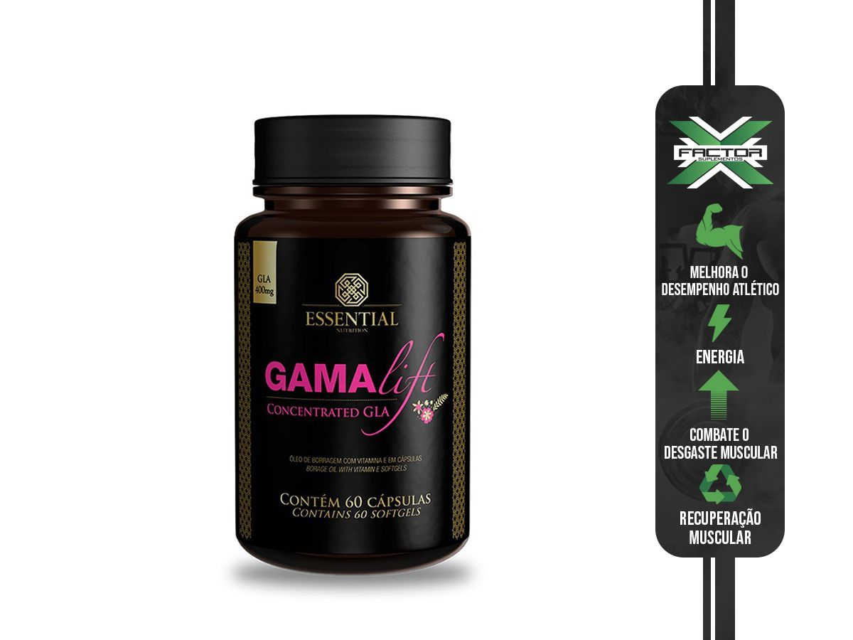 GAMA LIFT 500MG (120CAPS) ESSENTIAL NUTRITION