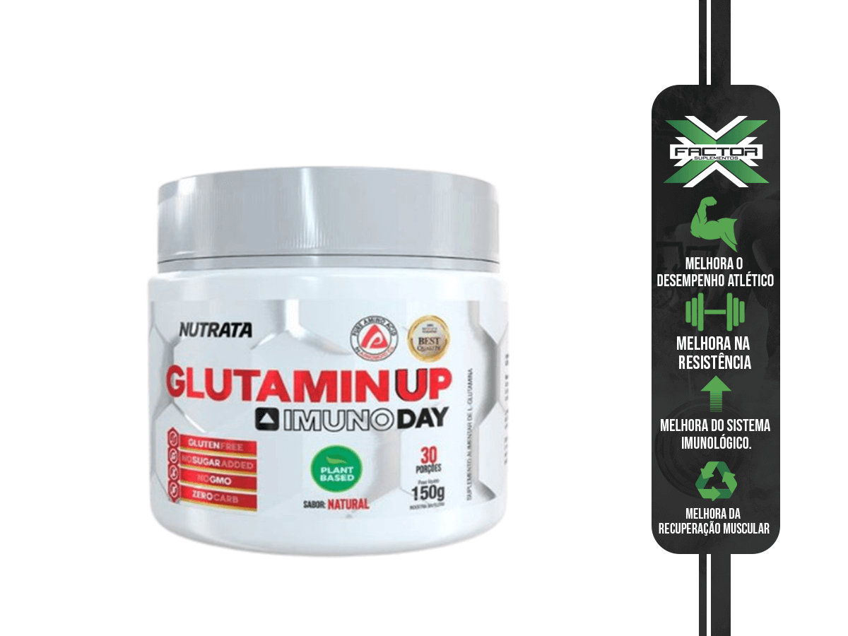 GLUTAMIN UP IMUNO DAY 150G - NUTRATA