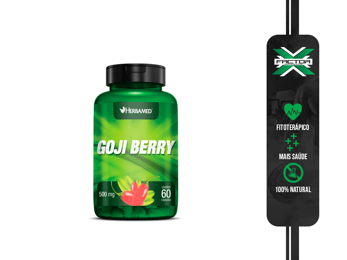 GOJI BERRY 60CAPS 500MG HERBAMED