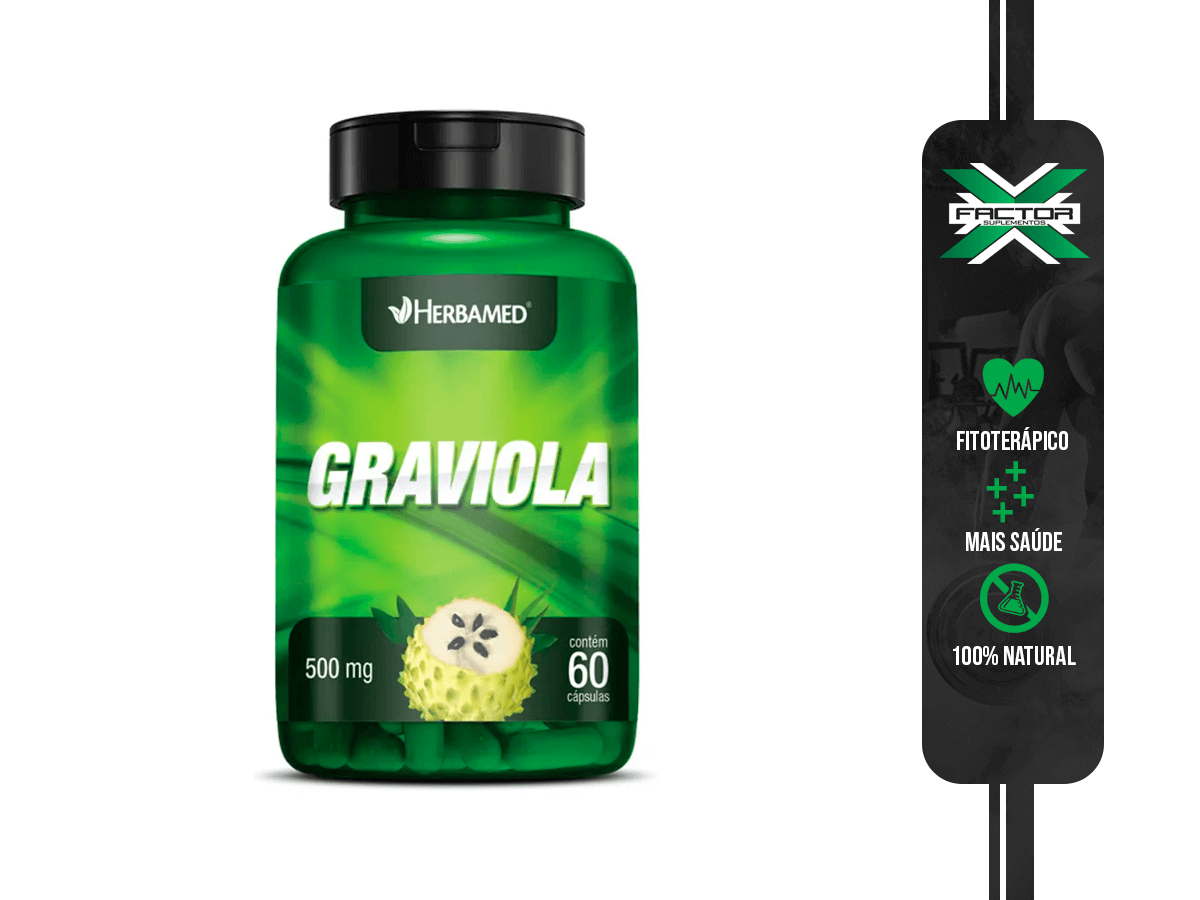 GRAVIOLA 60CAPS 500MG HERBAMED