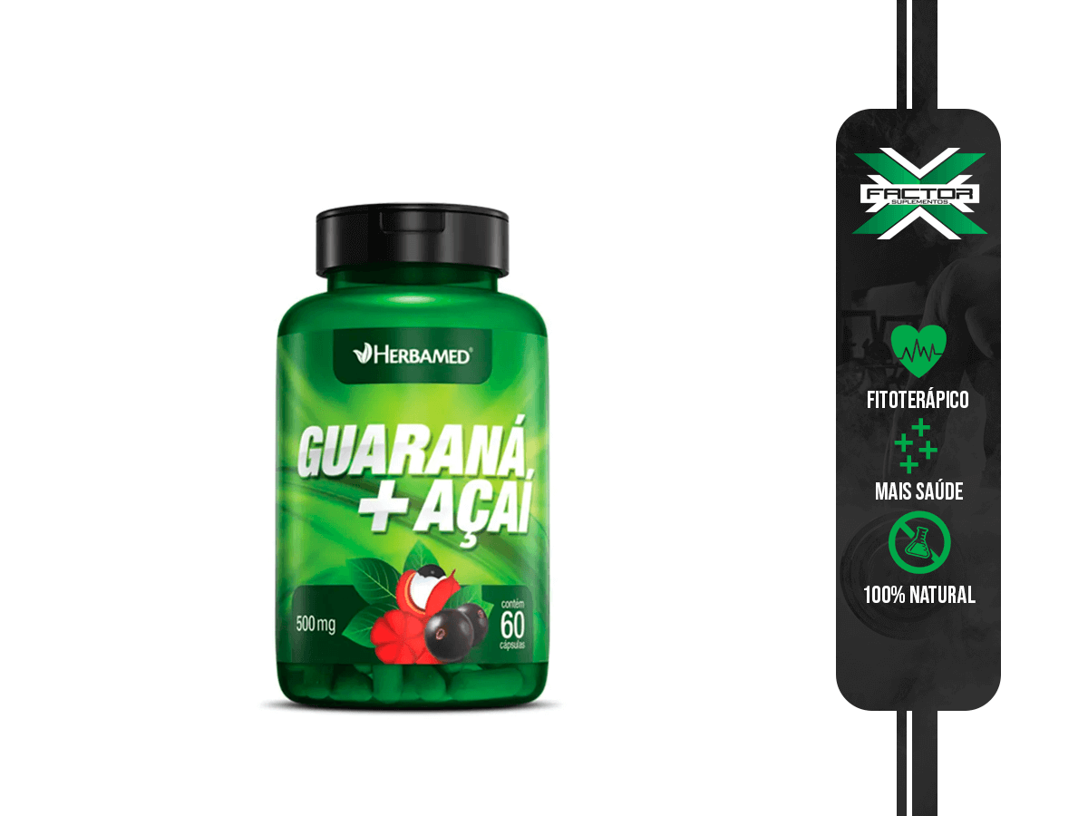 GUARANA 60CAPS 500MG